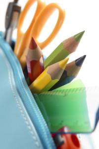 School supplies: Getty Images/BananaStock RF School supplies